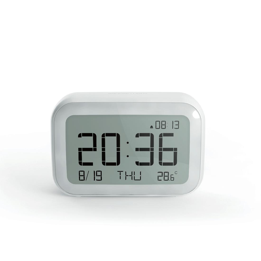 wireless weather station digital alarm clock air quality. Black Bedroom Furniture Sets. Home Design Ideas
